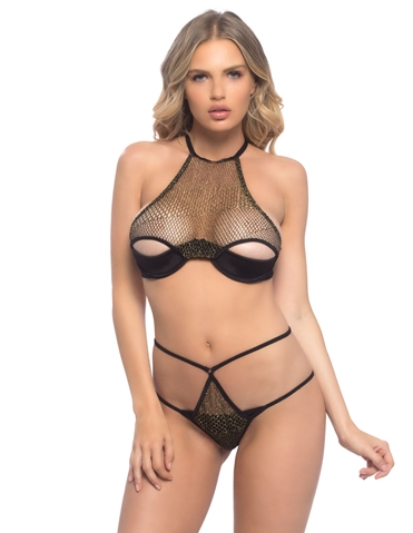 GOLDIE BRA SET