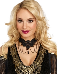 VENICE LACE CHOKER NECKLACE