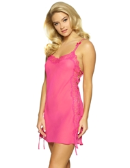 LAURA LACE UP CHEMISE
