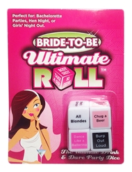 BRIDE TO BE ULTIMATE ROLL PARTY DICE