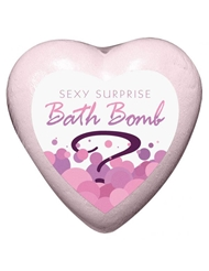 SEXY SURPRISE BATH BOMB STRAWBERRY CHAMPAGNE