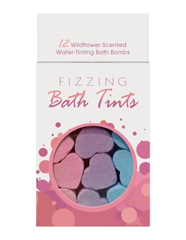 FIZZING BATH TINTS BATH BOMBS