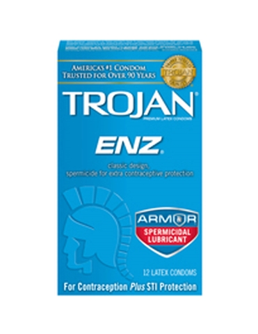 TROJAN ENZ ARMOR CONDOMS 12 PACK