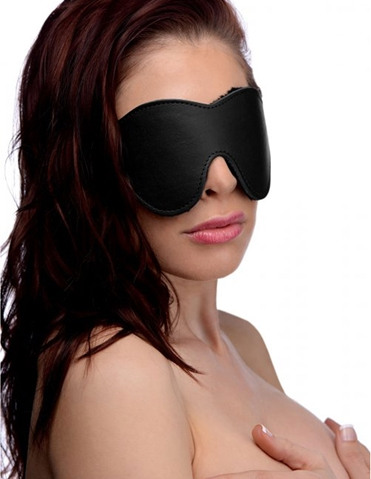 STRICT FLEECE-LINED BLINDFOLD