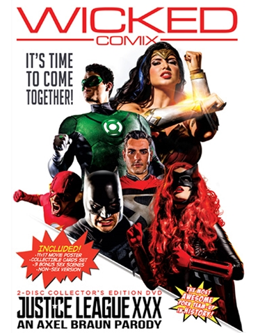JUSTICE LEAGUE XXX DVD