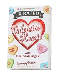 X-RATED VALENTINE HEART CANDY