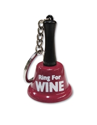 RING FOR WINE KEY CHAIN