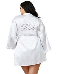 BRIDE ROBE AND CHEMISE - PLUS