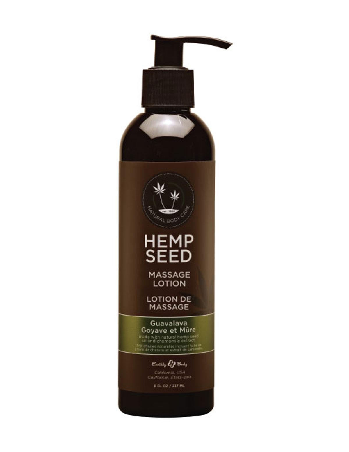 Hemp Seed Massage Lotion - Guavalava