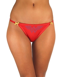 WONDER WOMAN LACE BACK PANTY - ALL SIZES