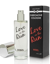 LOVE ON THE RUN PHEROMONE COLOGNE- REBEL