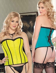 REVERSIBLE CORSET - PLUS