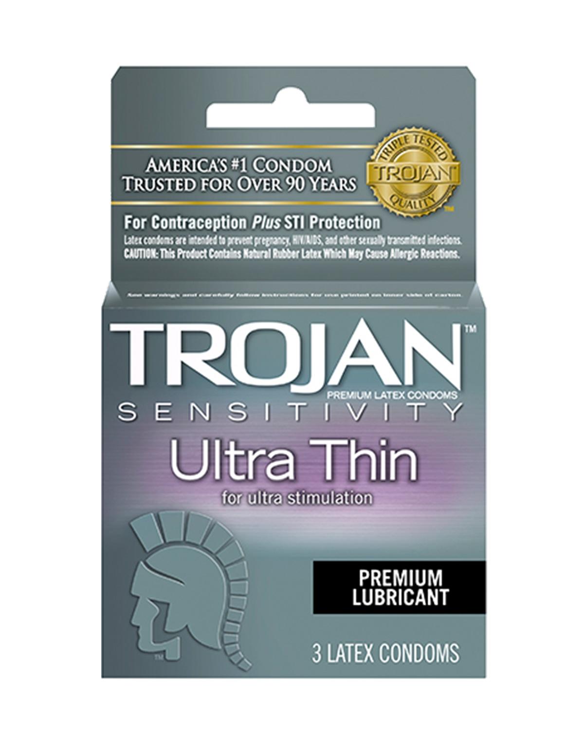 Trojan 3Pk Ultra Thin