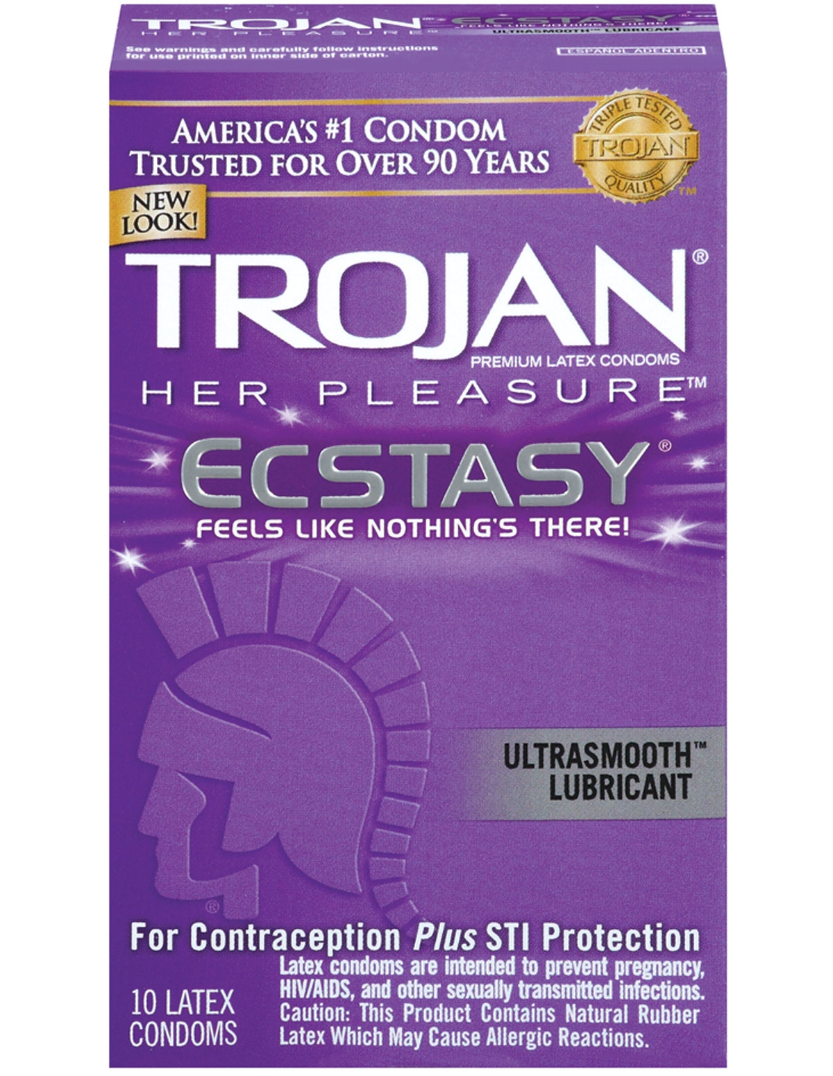 Trojan Her Pleasure Ecstasy Condoms