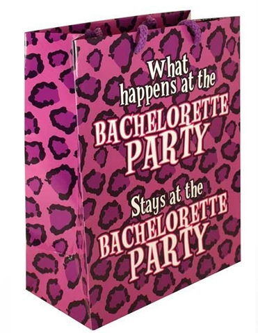 WHAT HAPPENS AT BACHELORETTE GIFT BAG