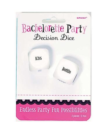 BACHELORETTE PARTY DECISION DICE