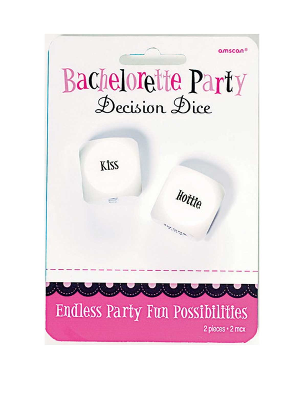 Bachelorette Party Decision Dice