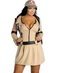 GHOSTBUSTER WOMENS COSTUME - PLUS
