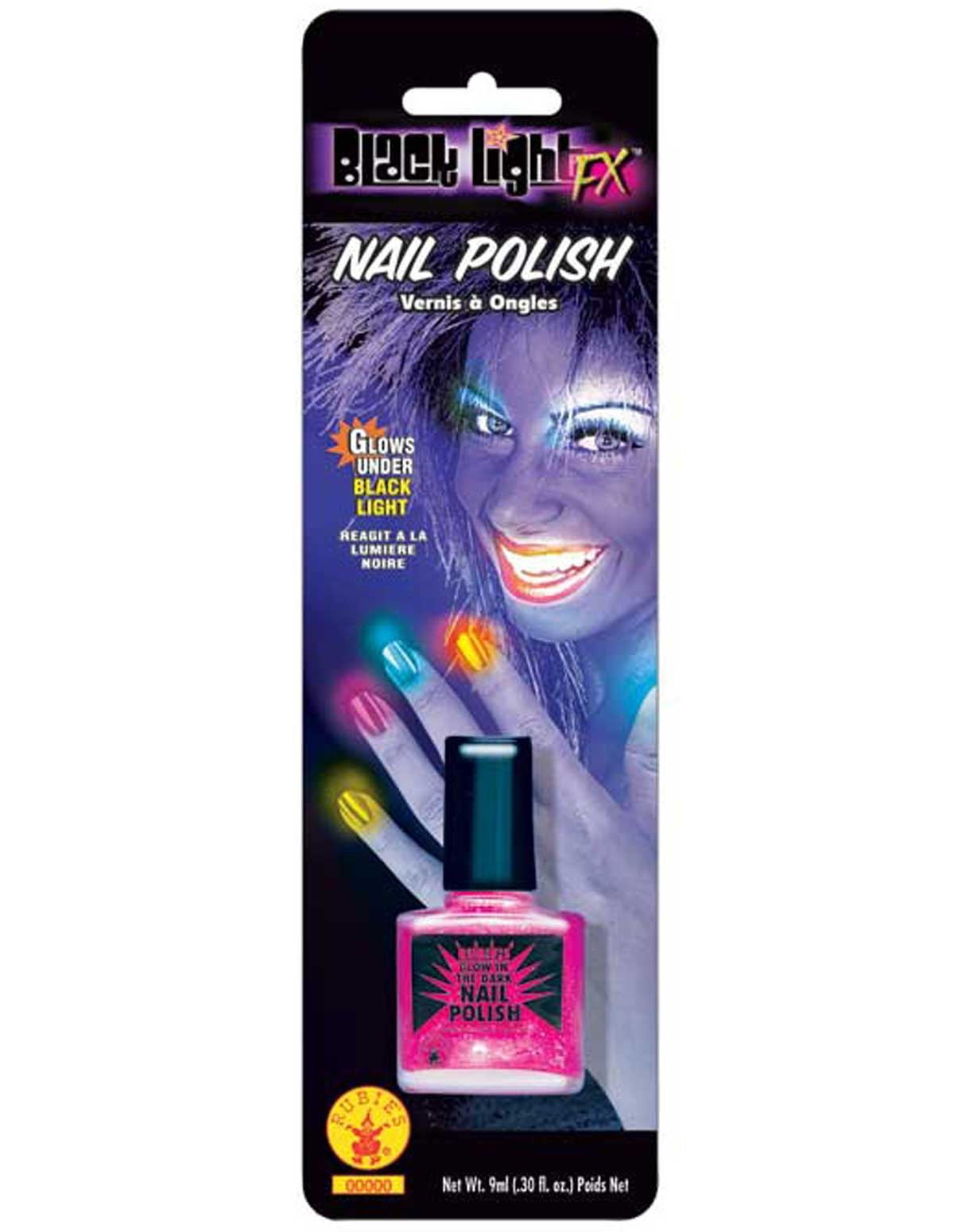 Black Light Nail Polish