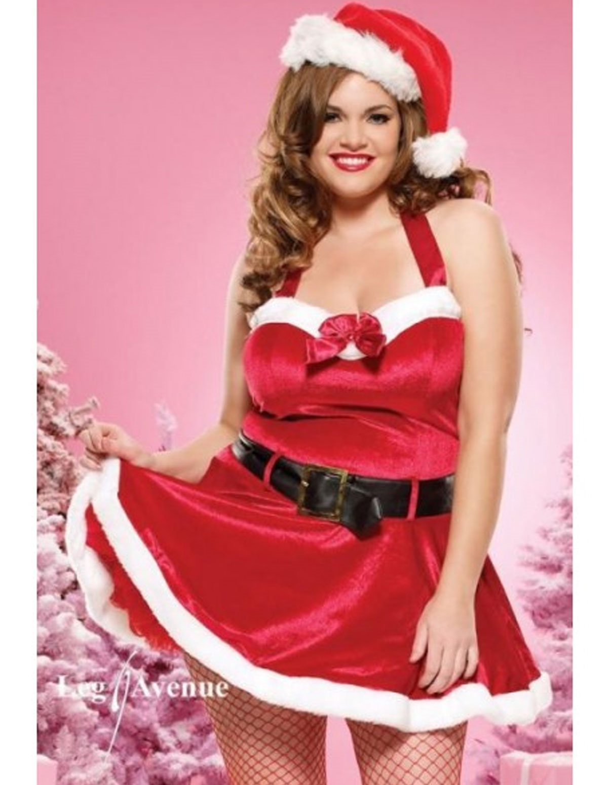 Santa Baby With Belt - Plus