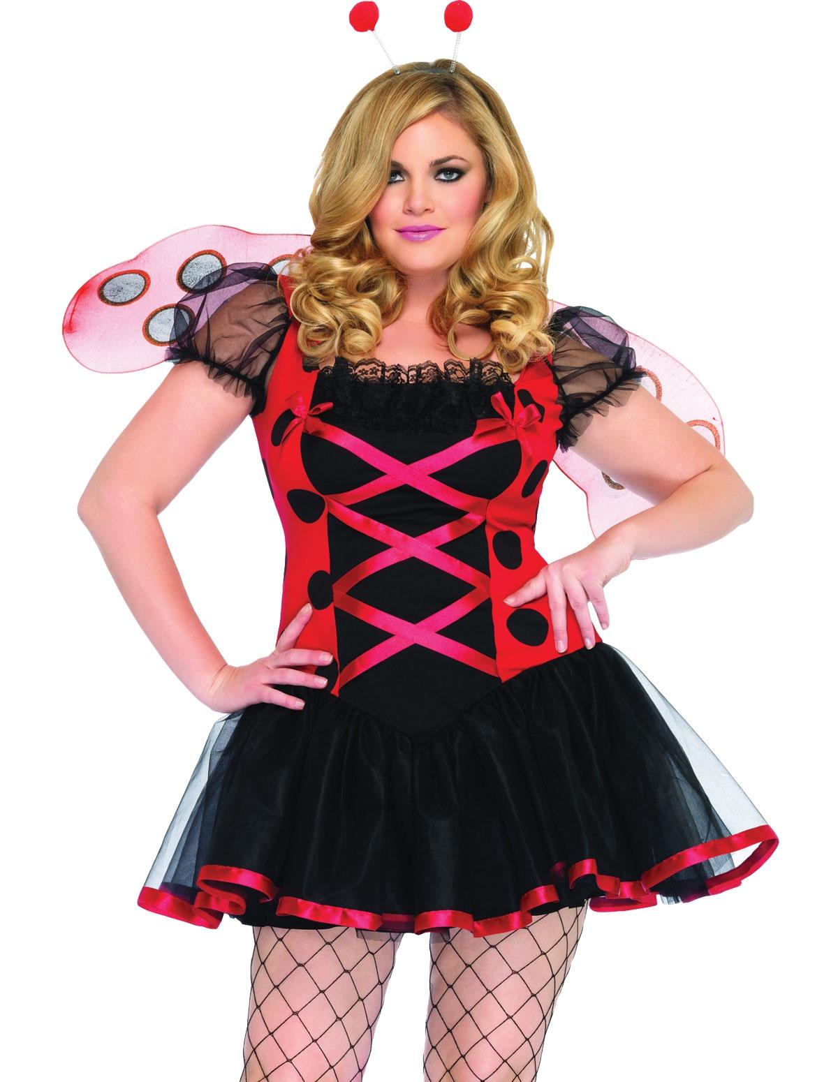 Lovely Ladybug Costume - Plus