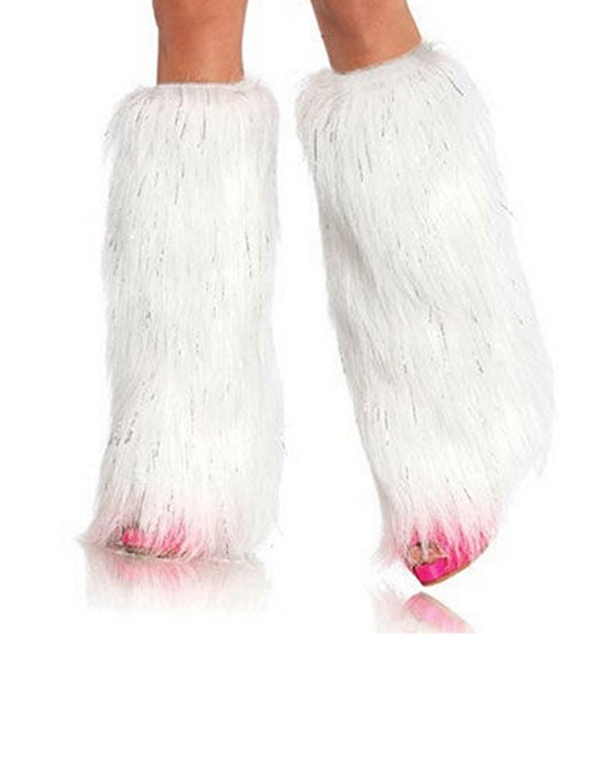 Sparkly Fur Leg Warmer