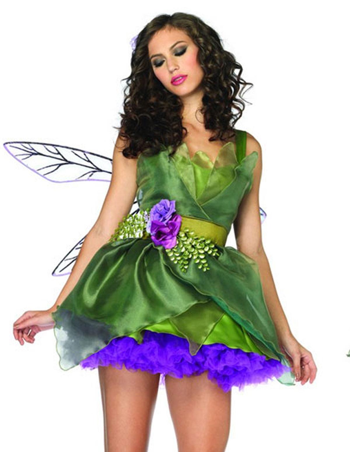 3Pc Woodland Fairy Costume