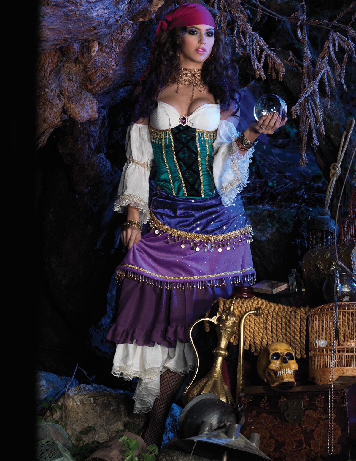 Tarot Card Gypsy Costume