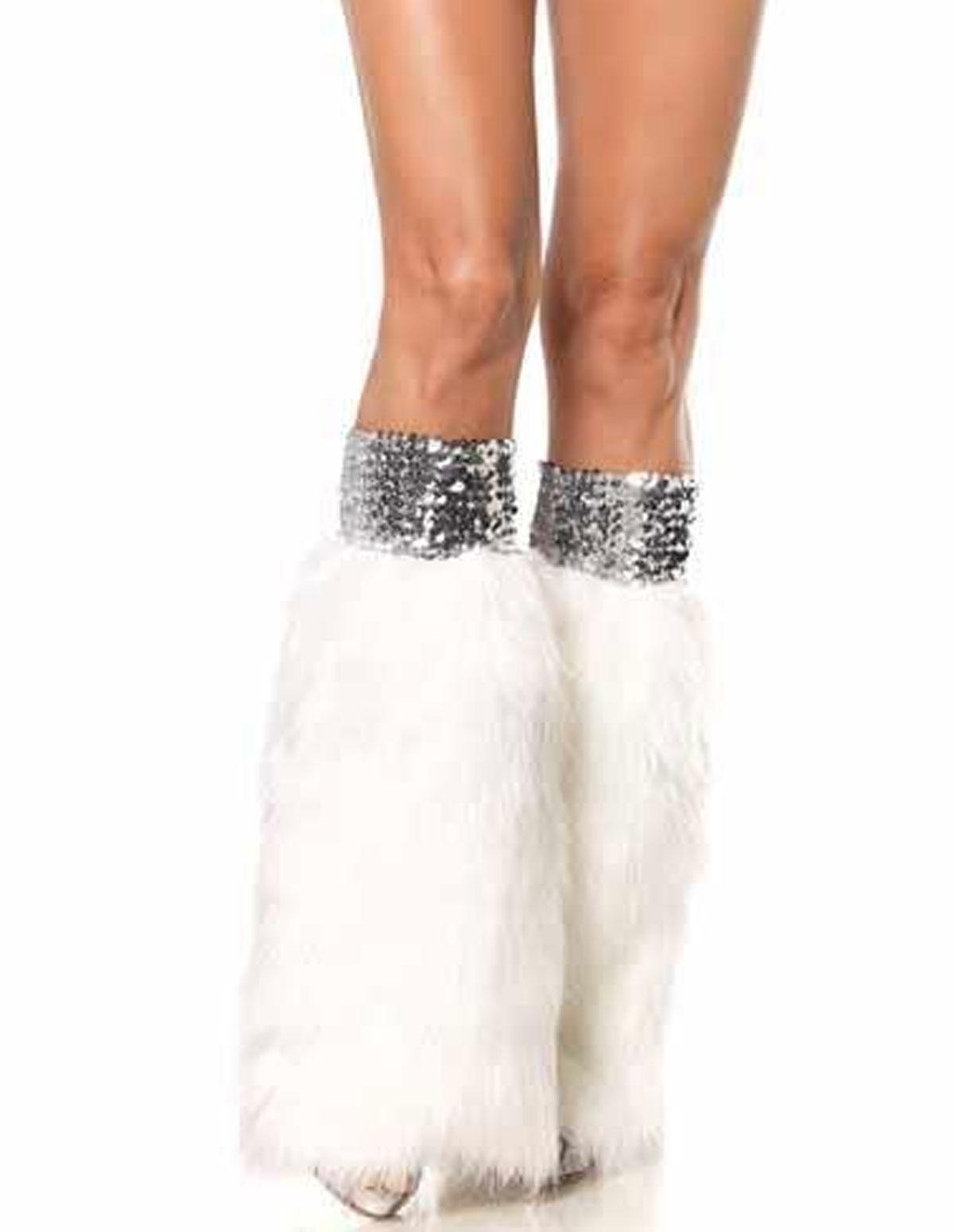 Sequin/Fur Warmers