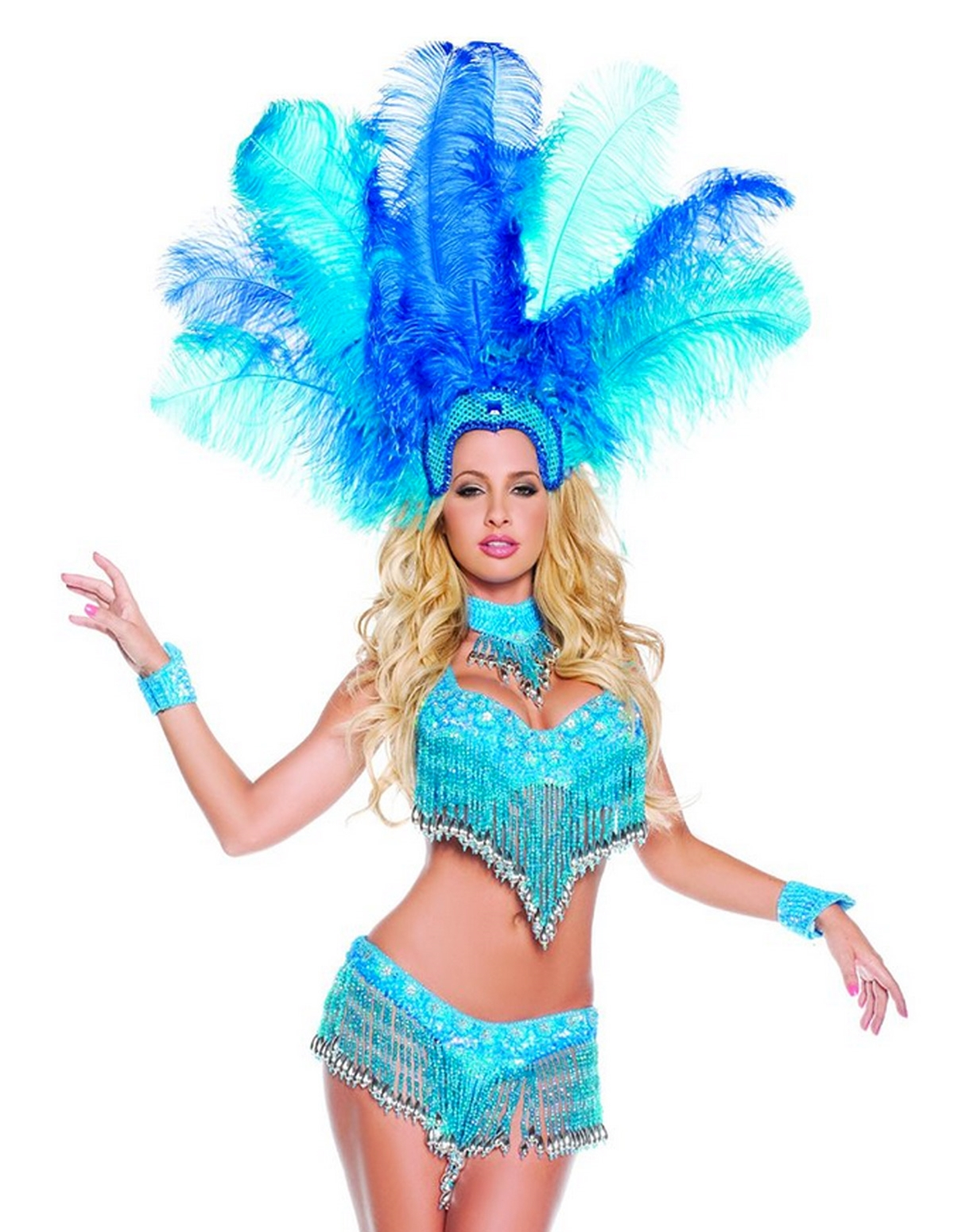 Brazilian Show Girl Costume