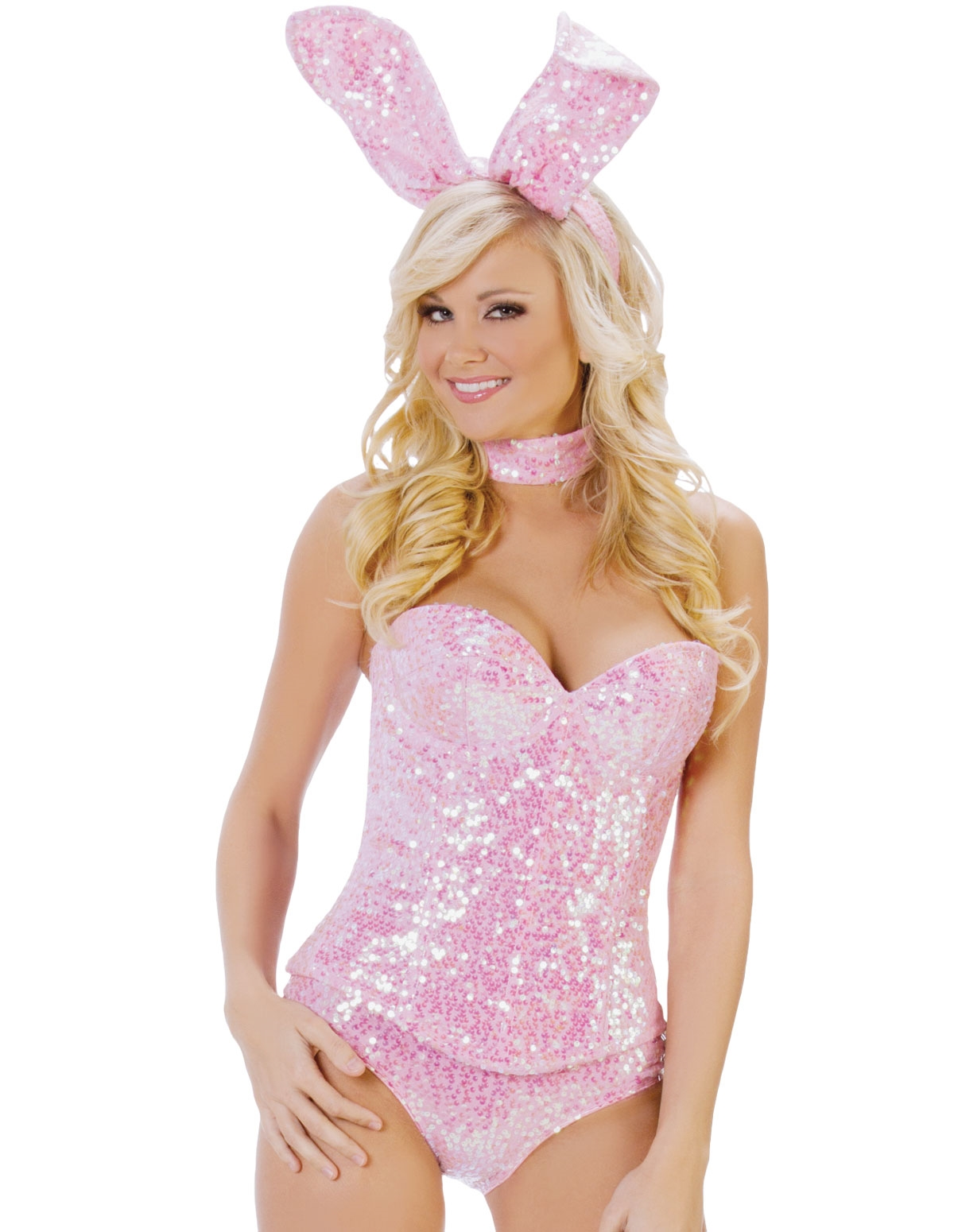 Party Bunny Costume Pink