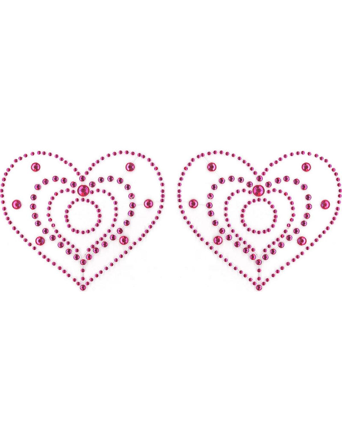 Boobie Crystals Hearts