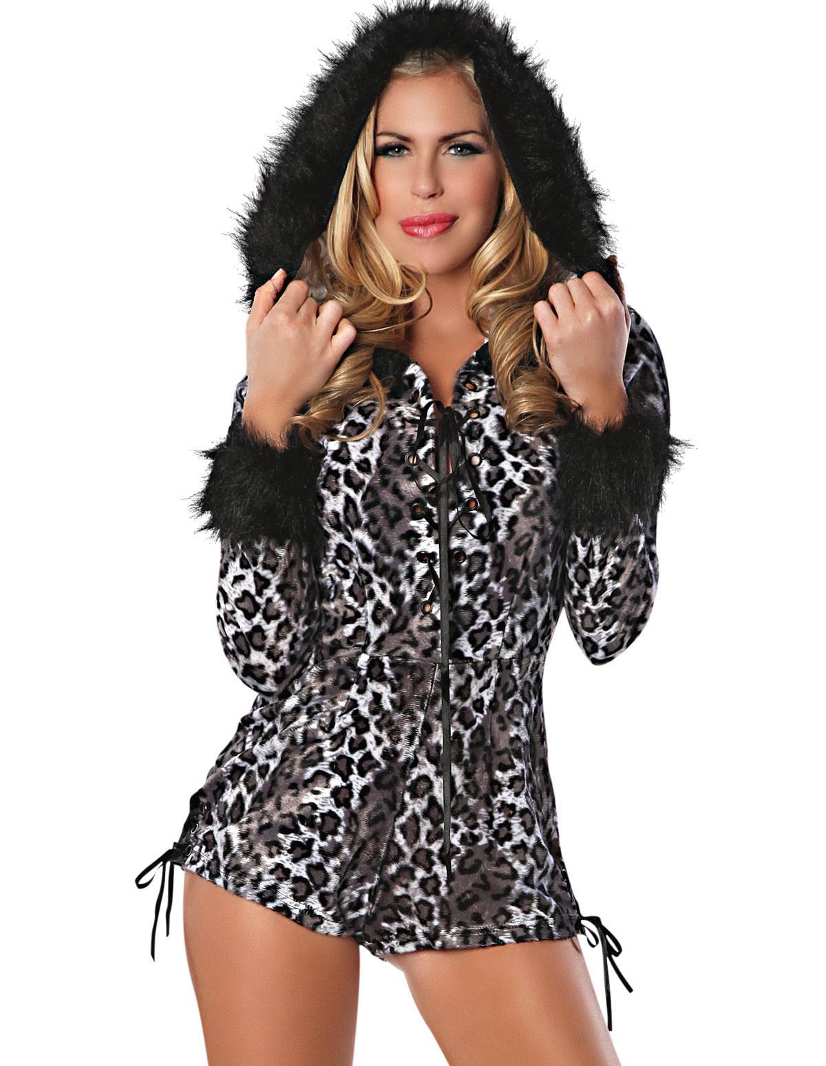 Sexy Snow Leopard Costume