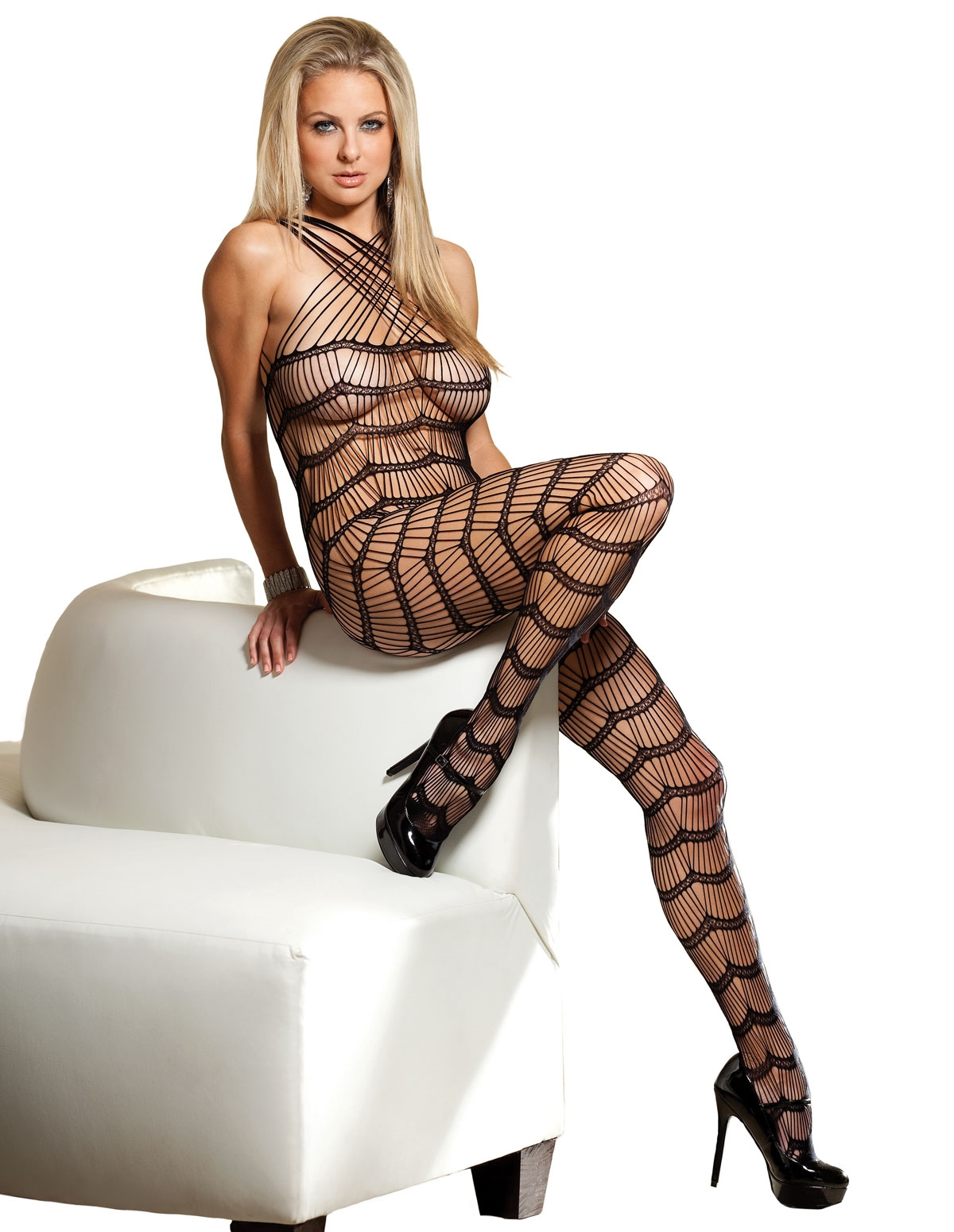 Criss-Cross Bodystocking