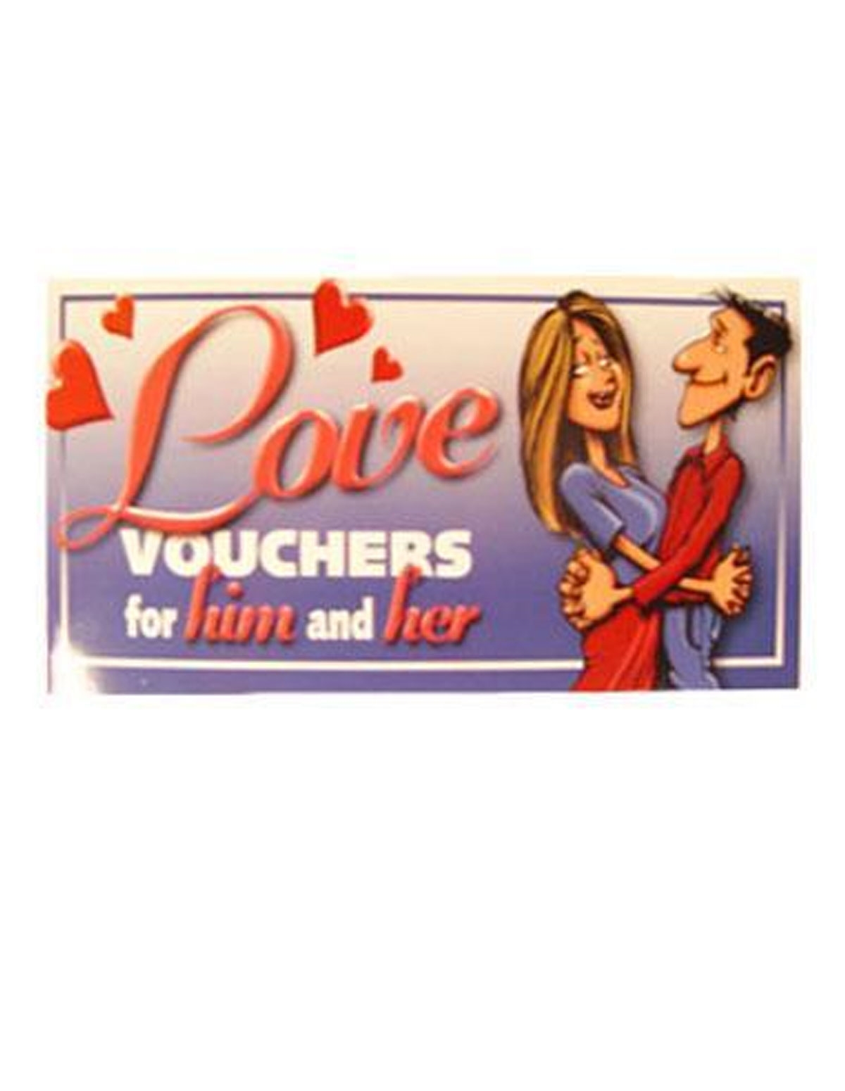 Love Vouchers For Him And Her Game