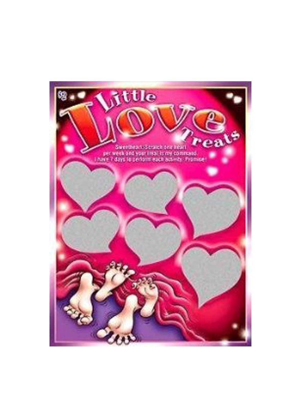 Little Love Treats Scratcher Game
