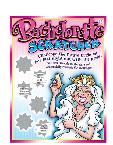 BACHELORETTE SCRATCHERS