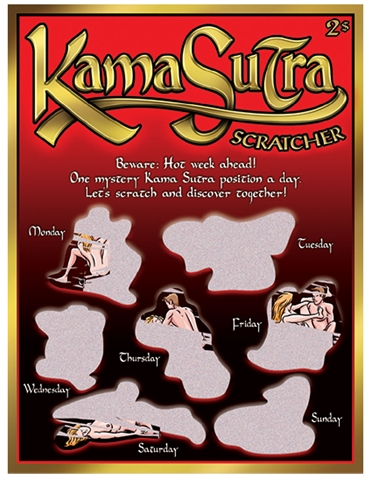 KAMA SUTRA SCRATCHER GAME