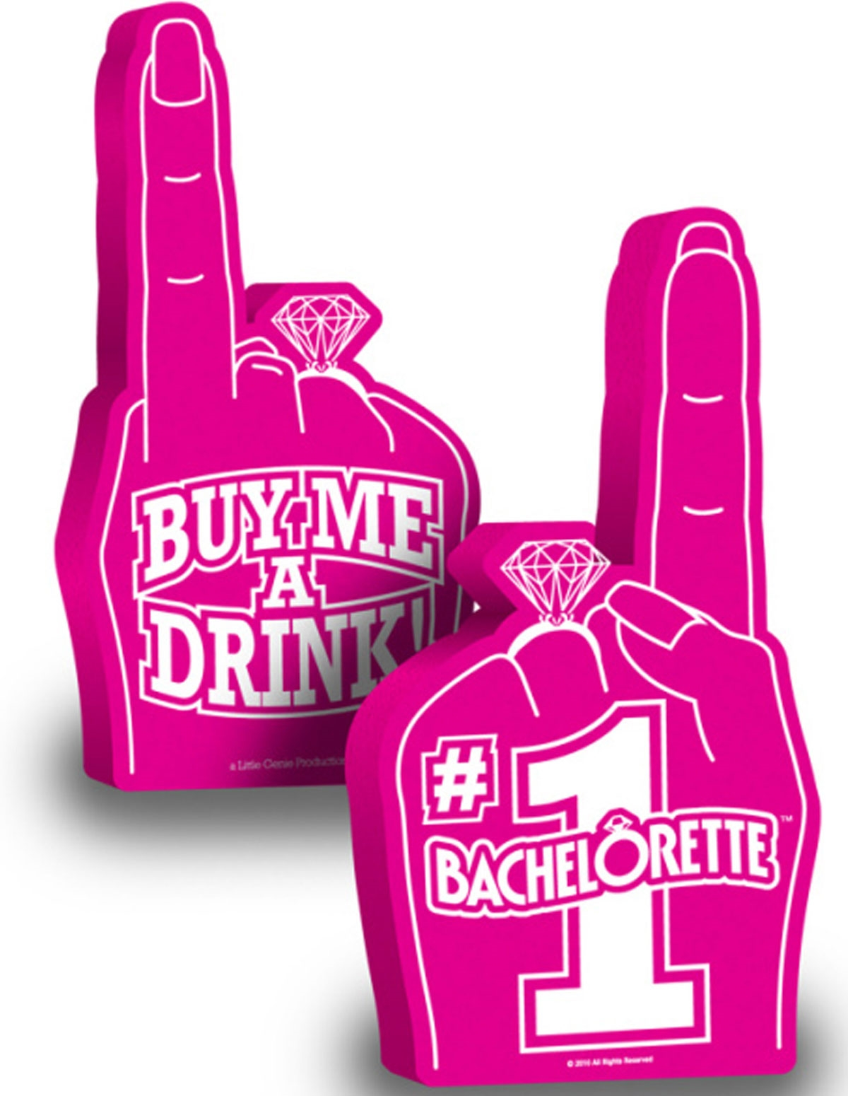 Bachelorette Foam Hand