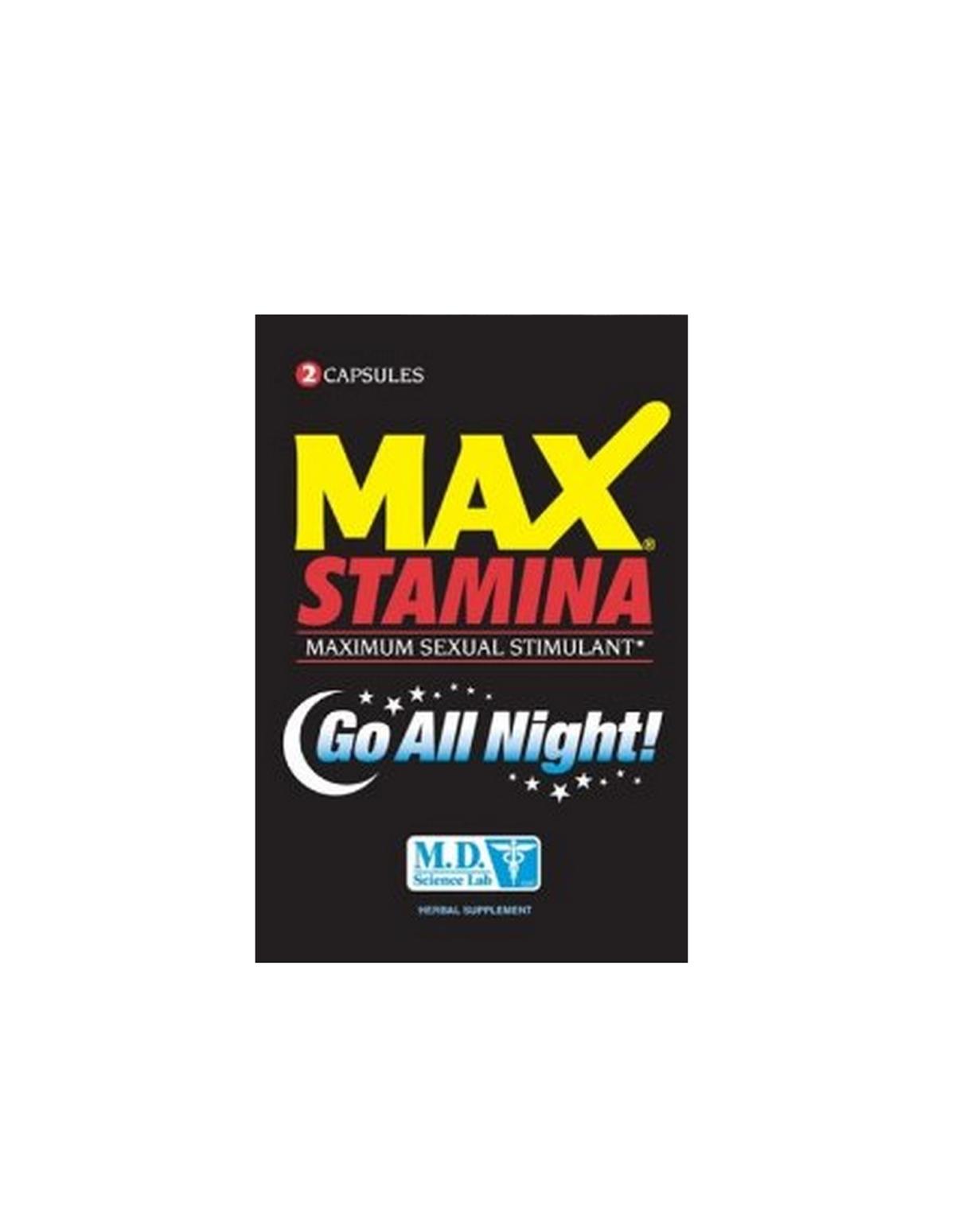 Max Stamina Pack