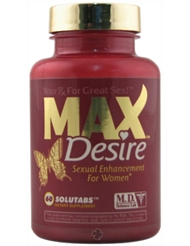 MAX DESIRE PILLS FOR WOMEN 60 CT