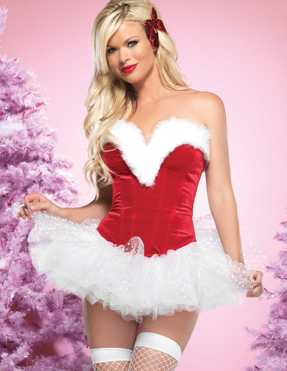 Sweetheart Santa Bustier