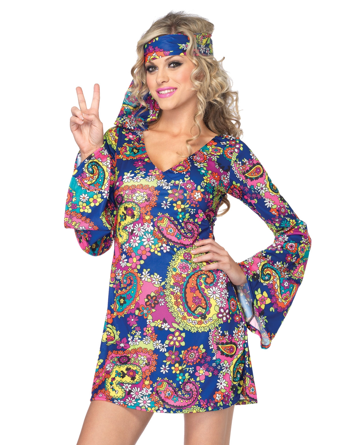Harmony Hippie Costume  Lovers Lane-7081