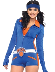 NY KNICKS DANCER ROMPER COSTUME