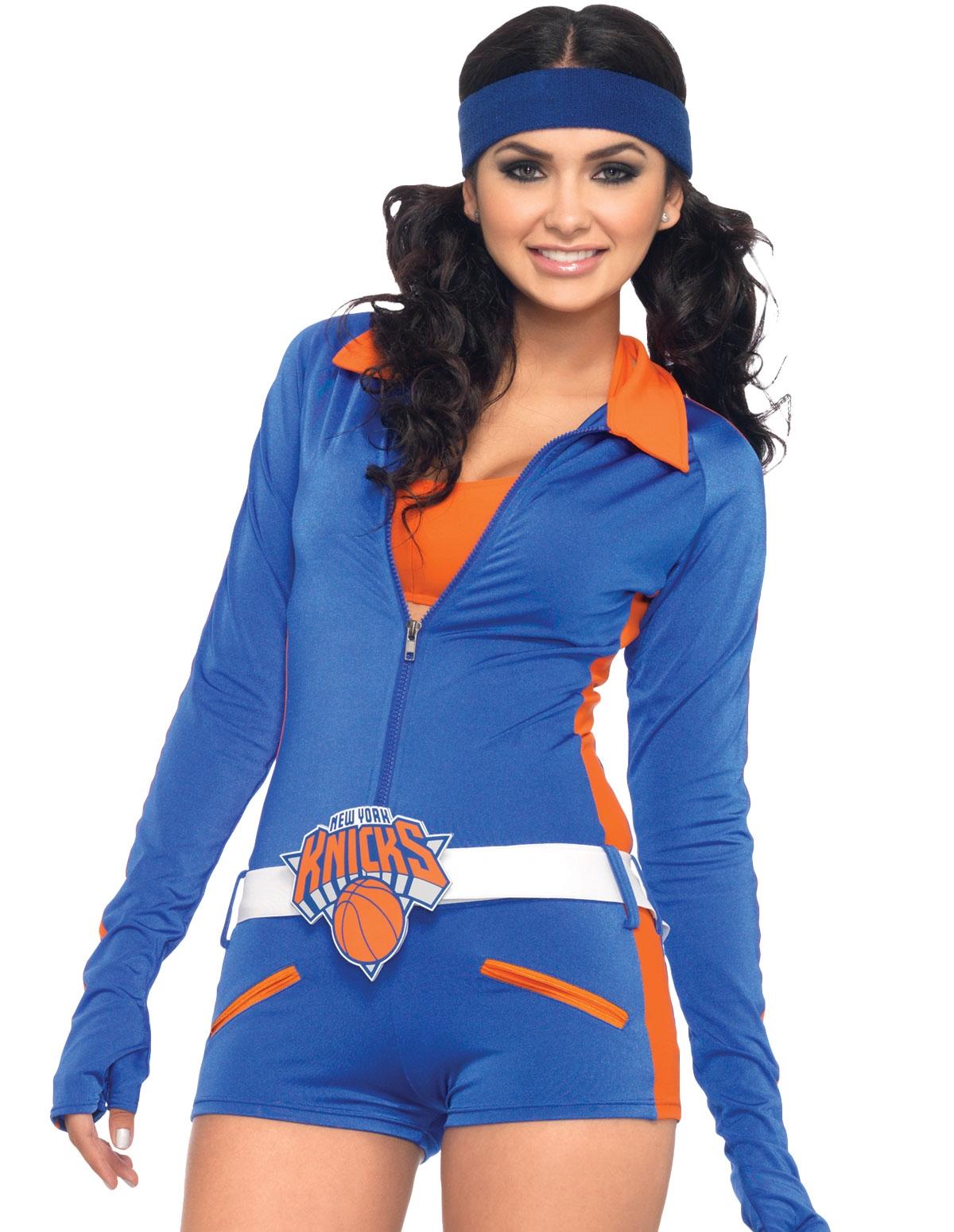 Ny Knicks Dancer Romper Costume