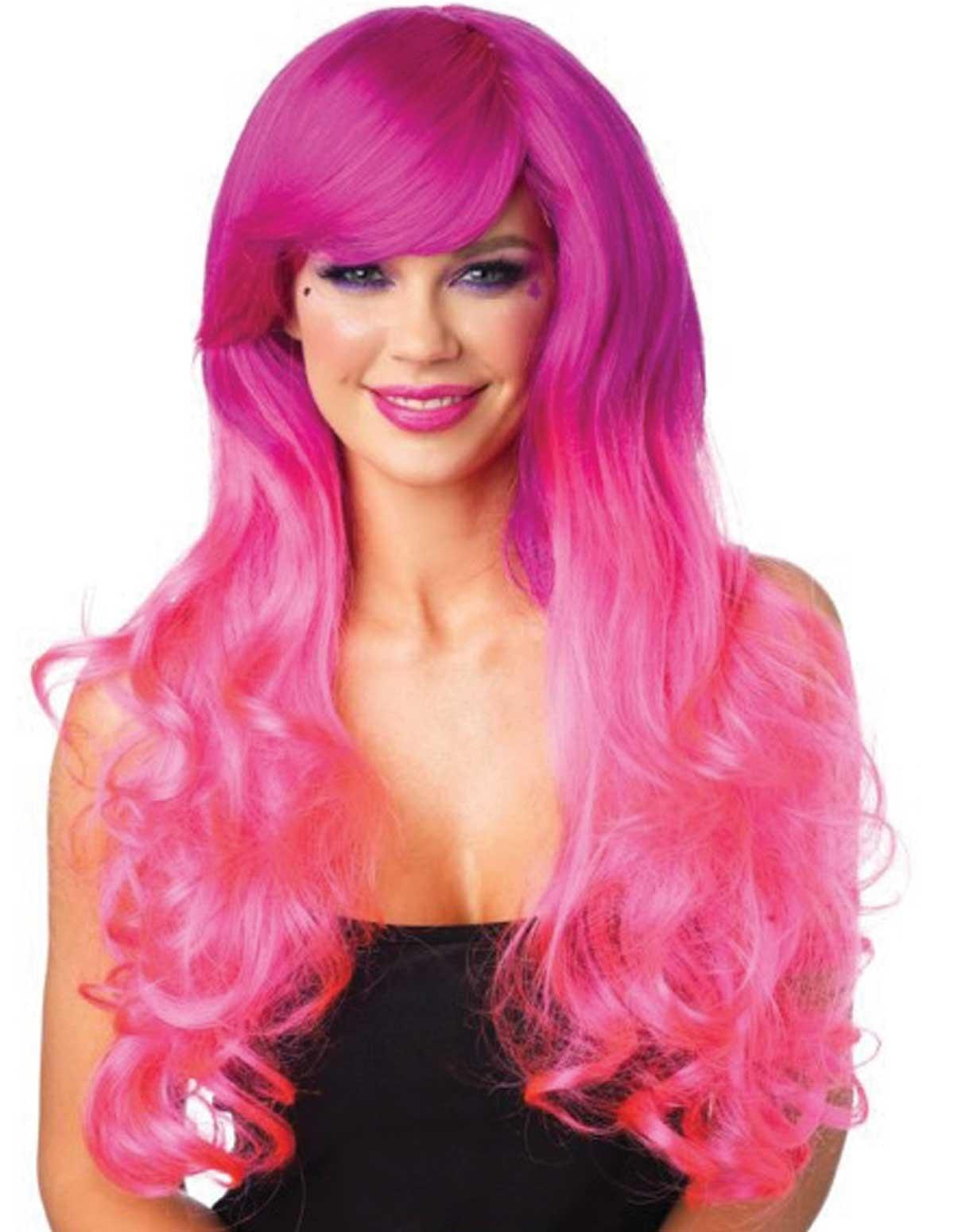 Cambria Two-Tone Wig