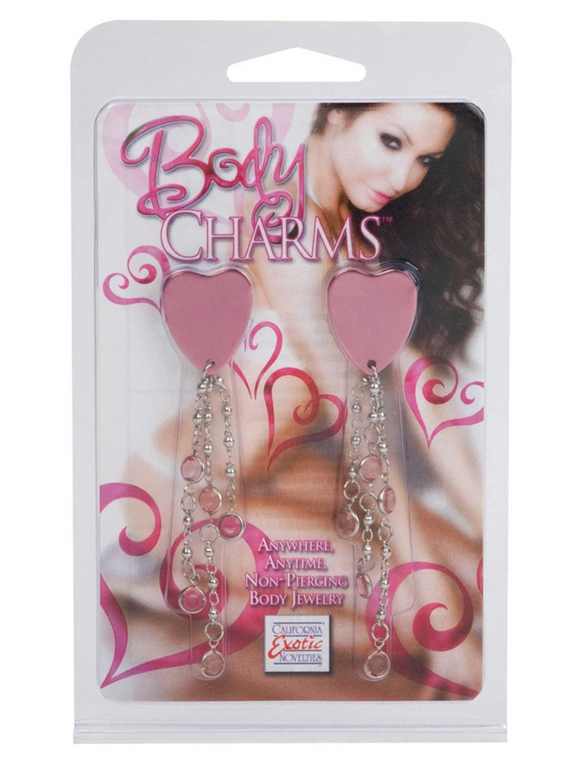 Body Charms Pink Heart