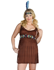 TRIBAL TROUBLE COSTUME - PLUS