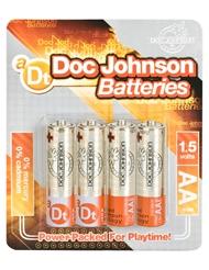 DOC JOHNSON BATTERIES AA 4-PACK