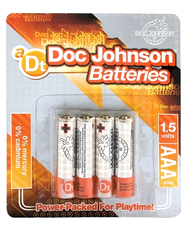 DJ BATTERIES AAA 4-PK